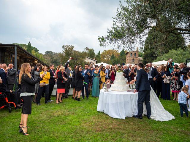 Il matrimonio di Riccardo e Francesca a Bracciano, Roma 92