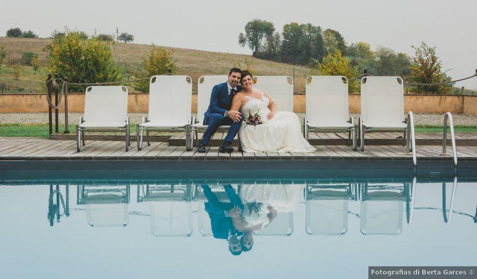 Il matrimonio di Emanuele e Lisa a Lu, Alessandria
