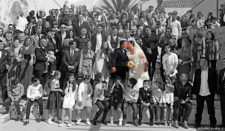 Il matrimonio di Stefano e Laura a Sinnai, Cagliari