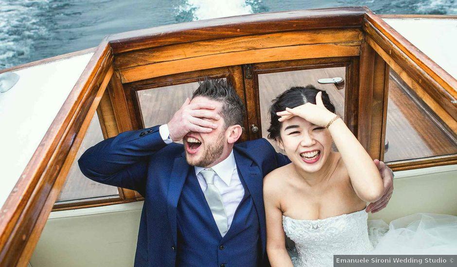 Il matrimonio di Jonathan e Yvonne a Lecco, Lecco