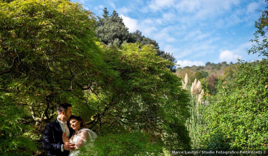 Il matrimonio di Riccardo e Francesca a Bracciano, Roma