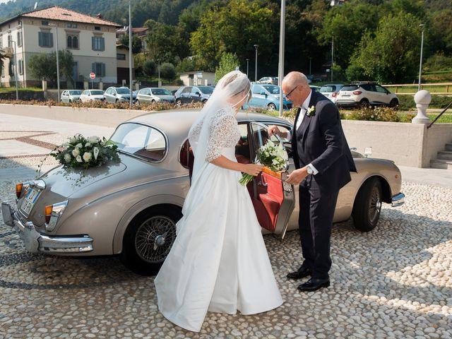 Il matrimonio di Filippo e Giulia a San Paolo d'Argon, Bergamo 9