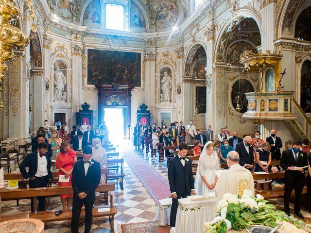 Il matrimonio di Filippo e Giulia a San Paolo d'Argon, Bergamo 11