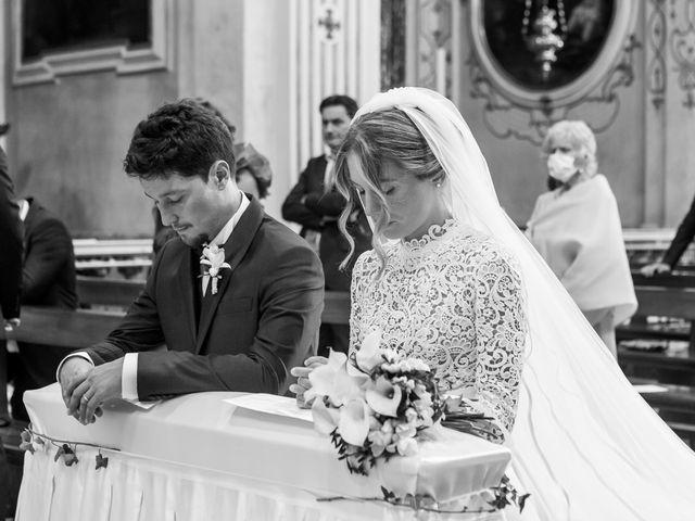 Il matrimonio di Filippo e Giulia a San Paolo d'Argon, Bergamo 14