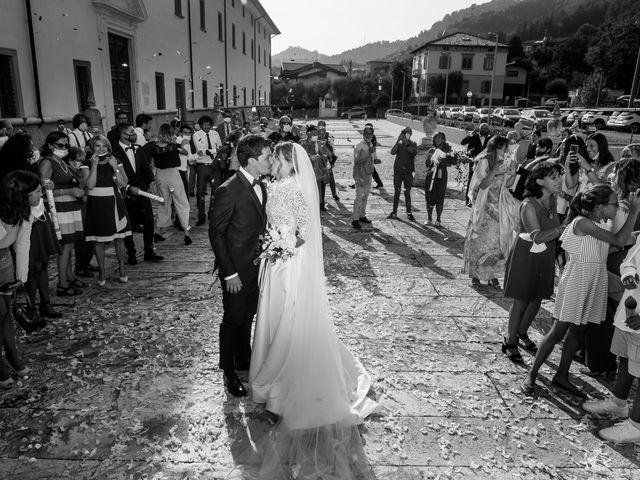 Il matrimonio di Filippo e Giulia a San Paolo d'Argon, Bergamo 17