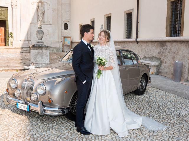 Il matrimonio di Filippo e Giulia a San Paolo d'Argon, Bergamo 20