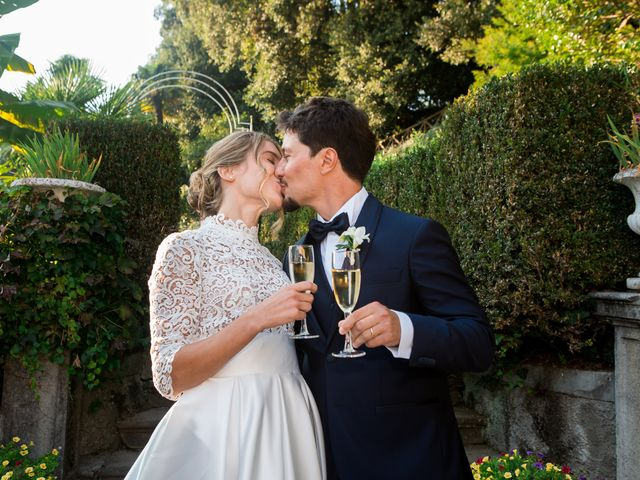 Il matrimonio di Filippo e Giulia a San Paolo d'Argon, Bergamo 25
