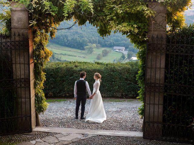 Il matrimonio di Filippo e Giulia a San Paolo d'Argon, Bergamo 26