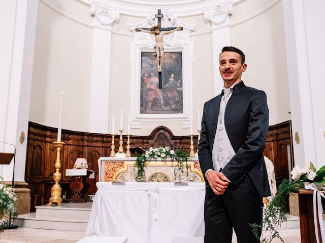 Il matrimonio di Alessio e Martina a Acquasparta, Terni 21