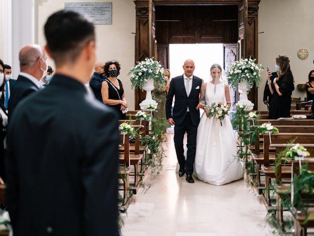 Il matrimonio di Alessio e Martina a Acquasparta, Terni 22