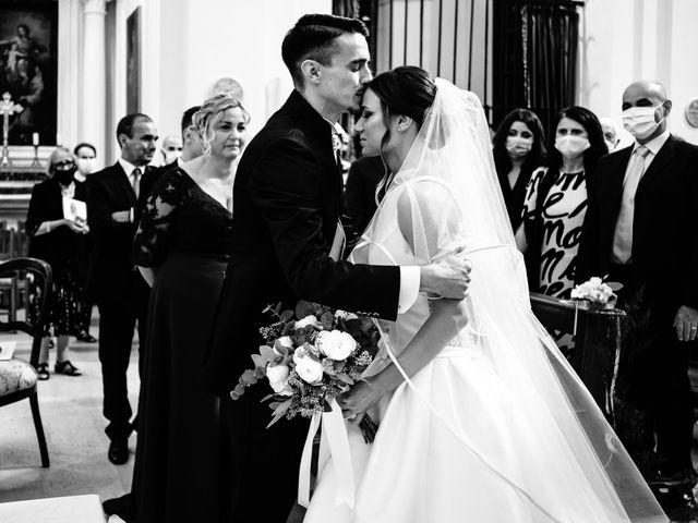 Il matrimonio di Alessio e Martina a Acquasparta, Terni 23