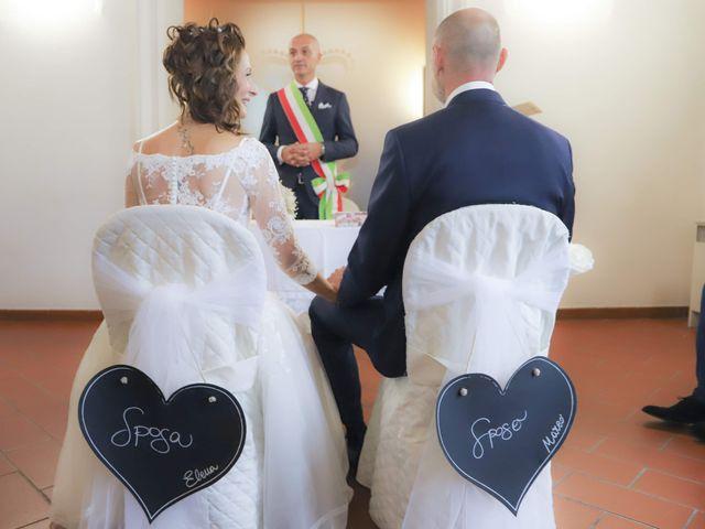 Il matrimonio di Marco e Elena a Montelupo Fiorentino, Firenze 15