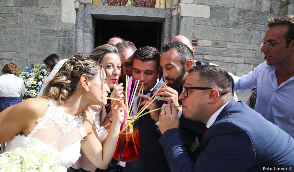 Il matrimonio di Cesare e Samuela a Gallarate, Varese