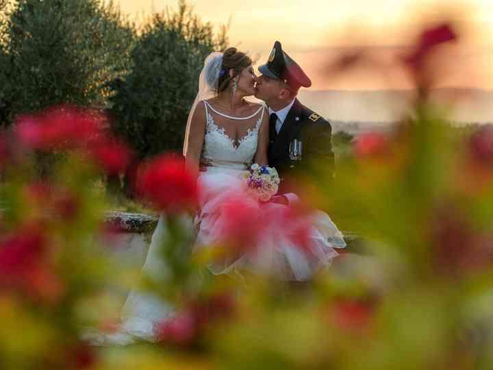le nozze di Samantha e Massimiliano