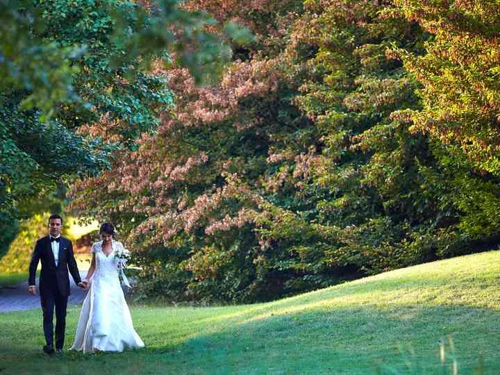 le nozze di Cristina e Emanuele