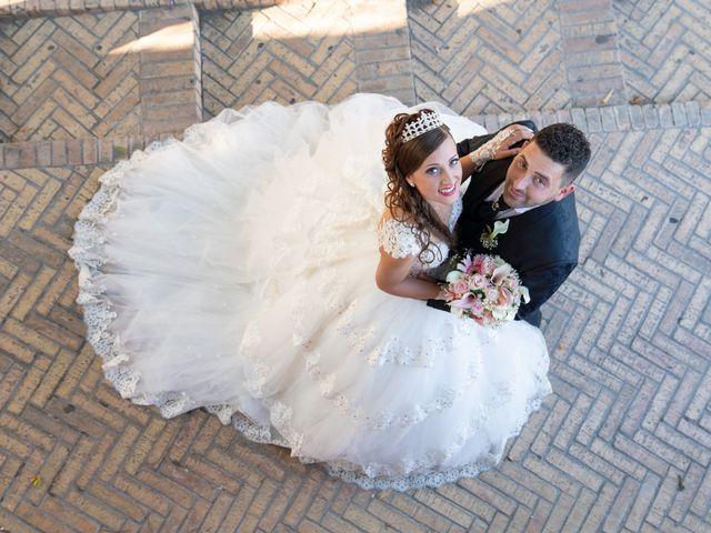 le nozze di Ilenia e Valerio