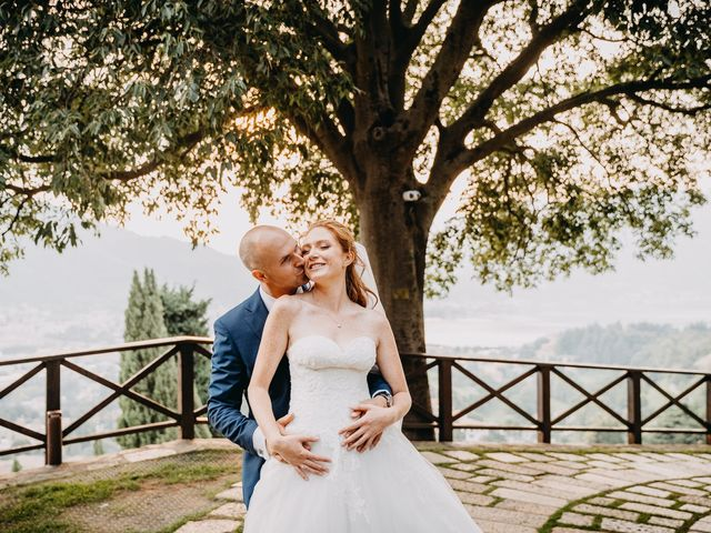 Il matrimonio di Fabio e Natasha a Calolziocorte, Lecco 26