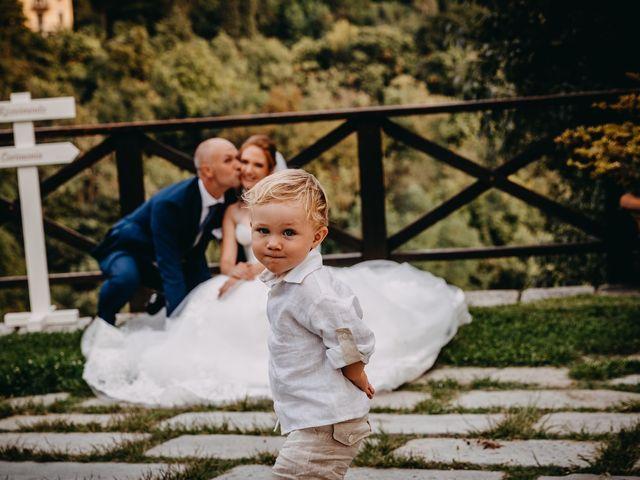 Il matrimonio di Fabio e Natasha a Calolziocorte, Lecco 29