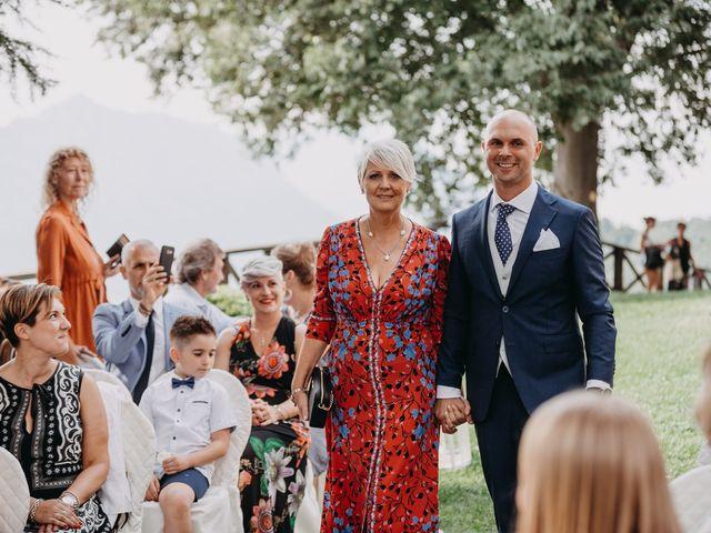 Il matrimonio di Fabio e Natasha a Calolziocorte, Lecco 38