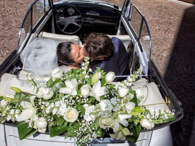 Il matrimonio di Stefano e Hilda a Monza, Monza e Brianza 12