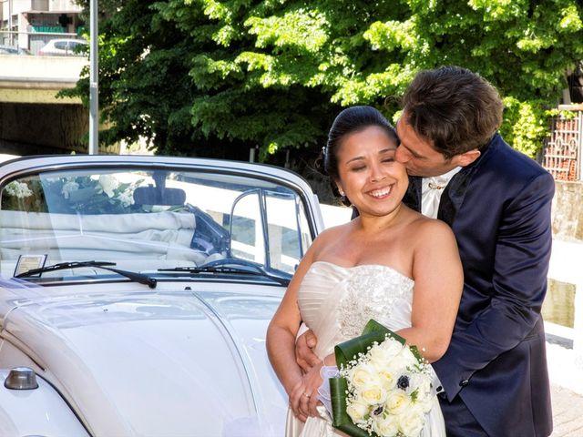 Il matrimonio di Stefano e Hilda a Monza, Monza e Brianza 17