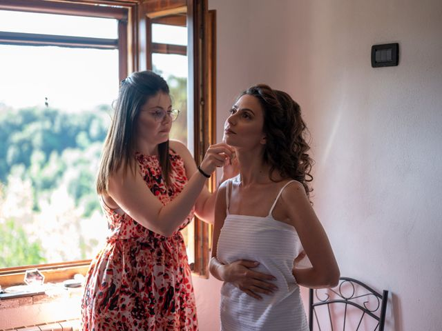 Il matrimonio di Simone e Arianna a Gallese, Viterbo 9