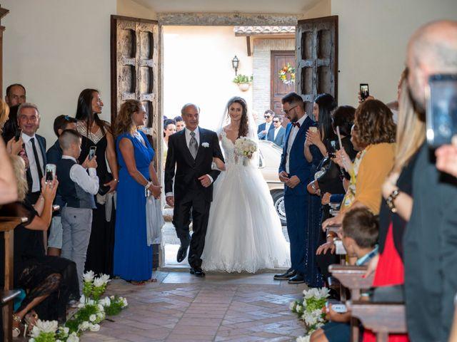 Il matrimonio di Simone e Arianna a Gallese, Viterbo 33