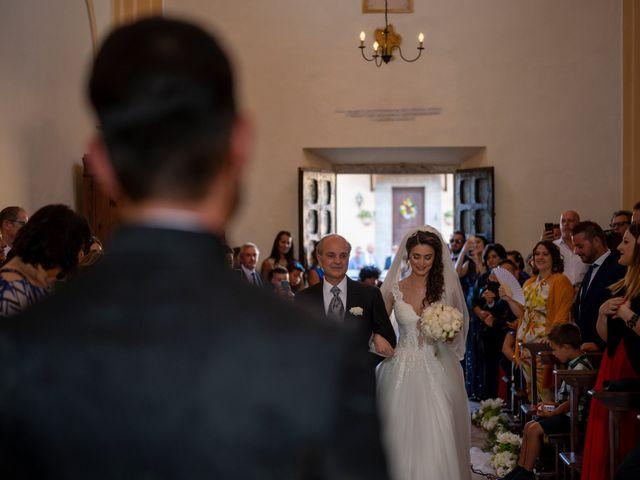 Il matrimonio di Simone e Arianna a Gallese, Viterbo 34