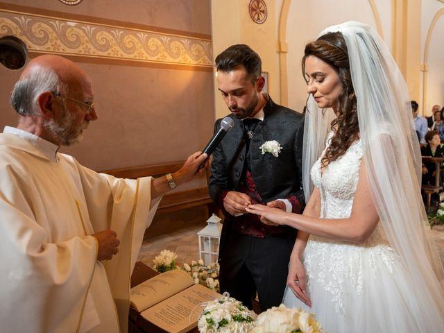 Il matrimonio di Simone e Arianna a Gallese, Viterbo 36