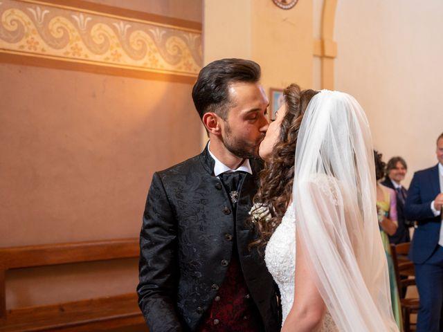 Il matrimonio di Simone e Arianna a Gallese, Viterbo 38
