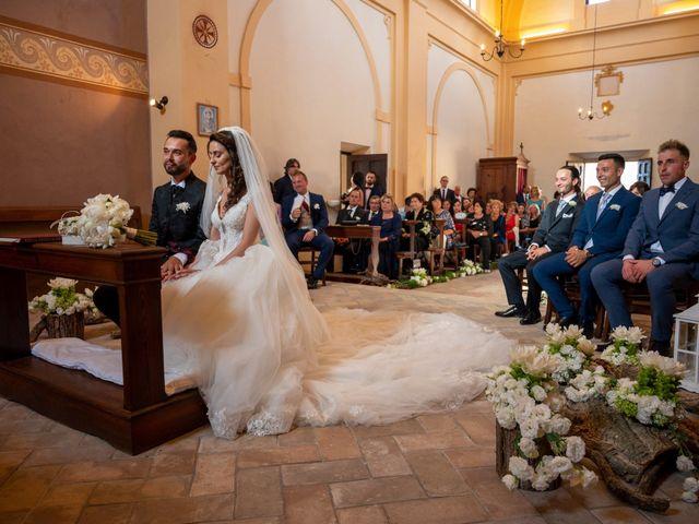 Il matrimonio di Simone e Arianna a Gallese, Viterbo 39