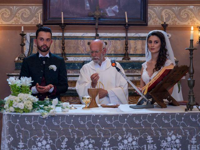 Il matrimonio di Simone e Arianna a Gallese, Viterbo 41