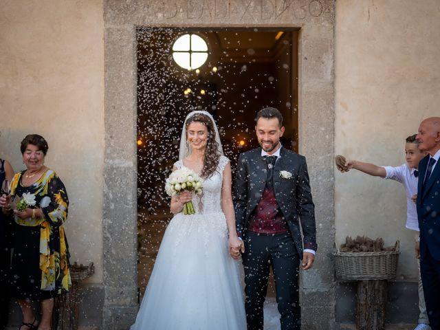 Il matrimonio di Simone e Arianna a Gallese, Viterbo 43