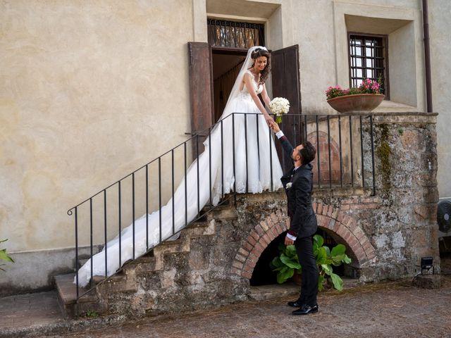 Il matrimonio di Simone e Arianna a Gallese, Viterbo 50