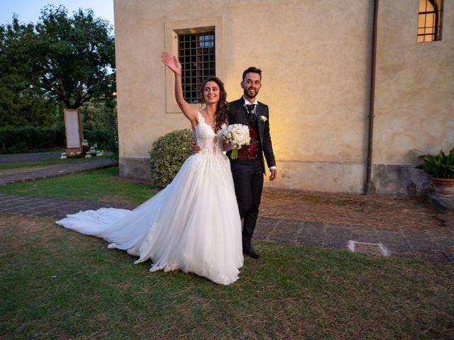Il matrimonio di Simone e Arianna a Gallese, Viterbo 57