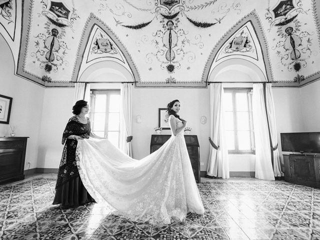 Il matrimonio di Giuseppe e Alessia a Ravello, Salerno 15