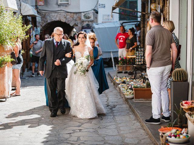 Il matrimonio di Giuseppe e Alessia a Ravello, Salerno 18