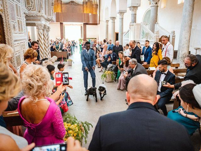 Il matrimonio di Giuseppe e Alessia a Ravello, Salerno 23
