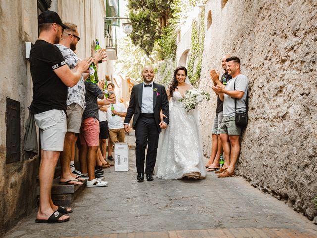 Il matrimonio di Giuseppe e Alessia a Ravello, Salerno 35