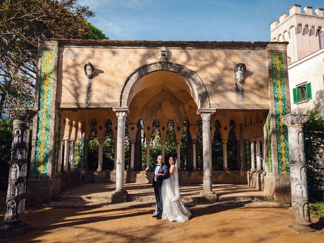 Il matrimonio di Giuseppe e Alessia a Ravello, Salerno 37