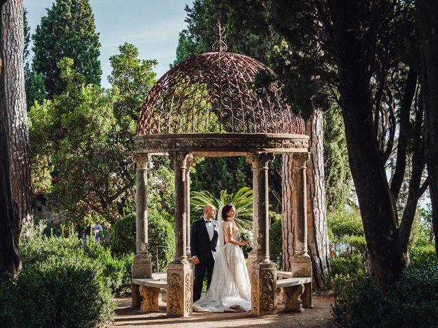 Il matrimonio di Giuseppe e Alessia a Ravello, Salerno 42