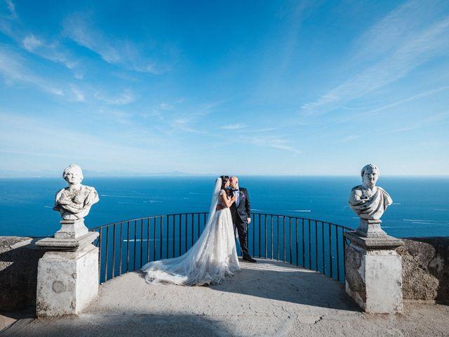 Il matrimonio di Giuseppe e Alessia a Ravello, Salerno 44