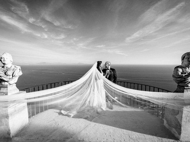 Il matrimonio di Giuseppe e Alessia a Ravello, Salerno 45