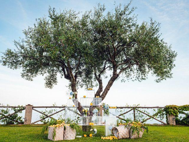 Il matrimonio di Giuseppe e Alessia a Ravello, Salerno 53