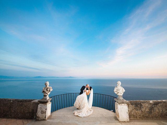 Il matrimonio di Giuseppe e Alessia a Ravello, Salerno 61
