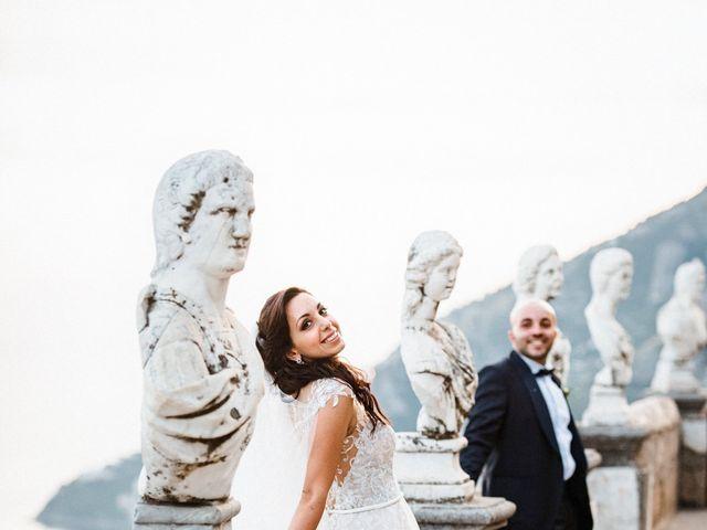 Il matrimonio di Giuseppe e Alessia a Ravello, Salerno 63