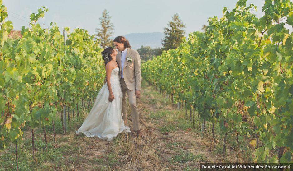 Il matrimonio di Riccardo e Amalia a Pistoia, Pistoia