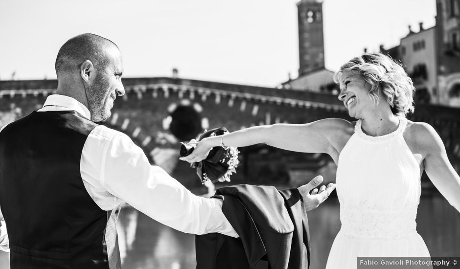 Il matrimonio di Matteo e Laura a Verona, Verona