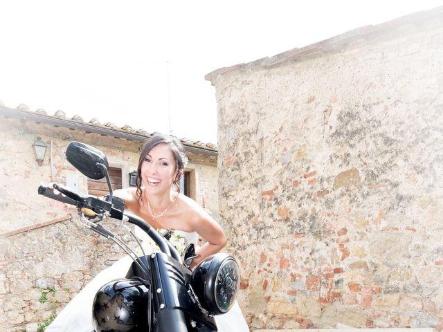 Il matrimonio di Matteo e Giovanna a Monteriggioni, Siena 1