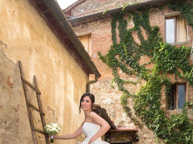 Il matrimonio di Matteo e Giovanna a Monteriggioni, Siena 14